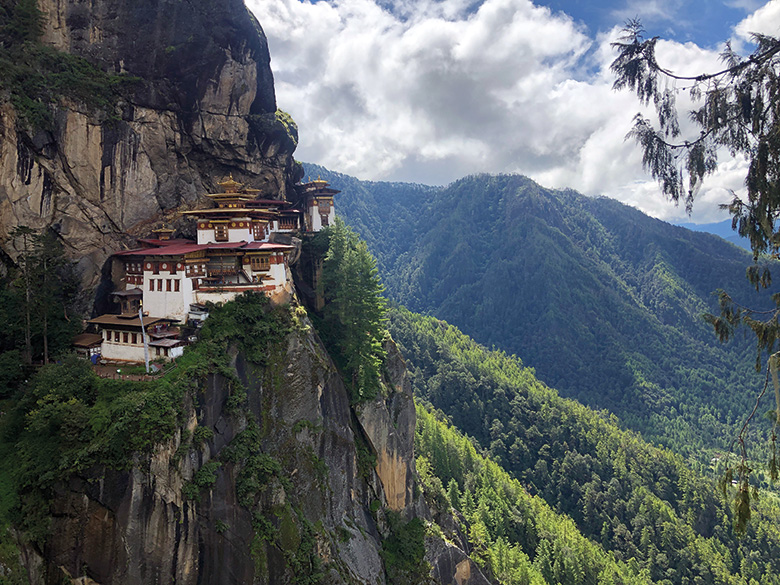 The Tiger Monastery.